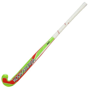 glow wooden hockey stick